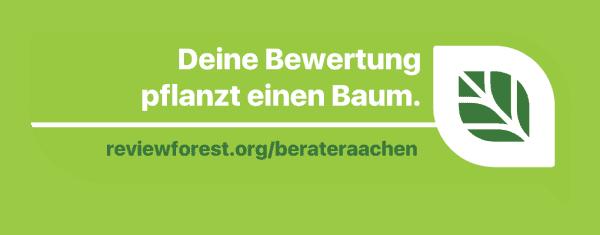 Für jede erhaltene Google Bewertung lässt Beratungsservice-ac GmbH Versicherungsmakler & Finanzberater einen Baum im Namen des Bewertenden in Mexiko pflanzen.